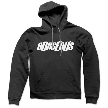 BORGEOUS -Logo- Black Pullover Hoodie