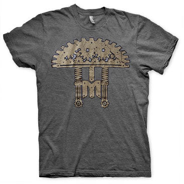 INFECTED MUSHROOM -Steam Shroom- Heather Charcoal Tee