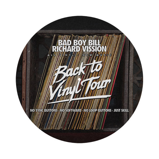 BACK TO VINYL - Vinyl Slipmat Set