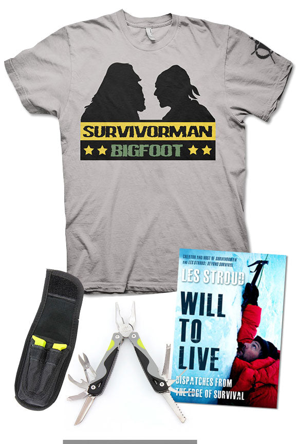 LTD ED. Survivorman - Garage Bundle