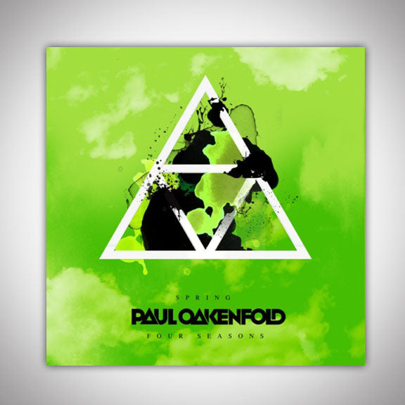 PAUL OAKENFOLD -Four Seasons- Spring Sticker