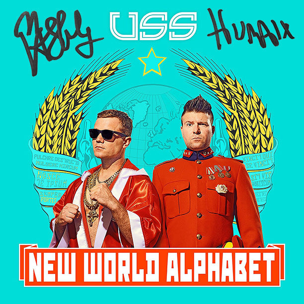 U.S.S. - New World Alphabet - SIGNED CD