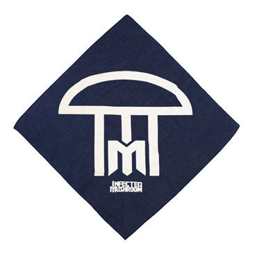 INFECTED MUSHROOM -Logo- Navy Blue Bandana