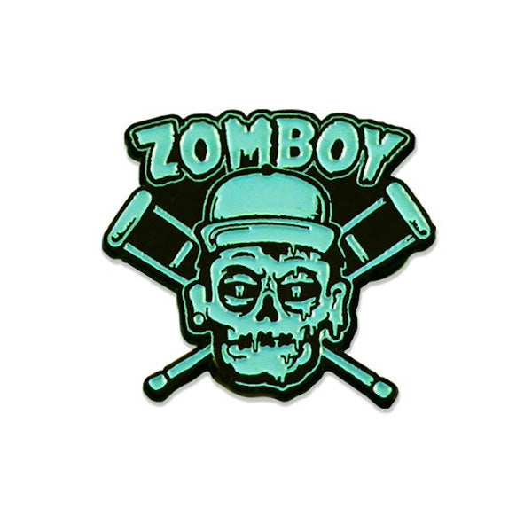Zomboy - Cross Crutches Lapel Pin