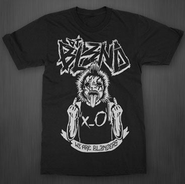 DJ BL3ND -We Are Bl3nders- Black T-Shirt