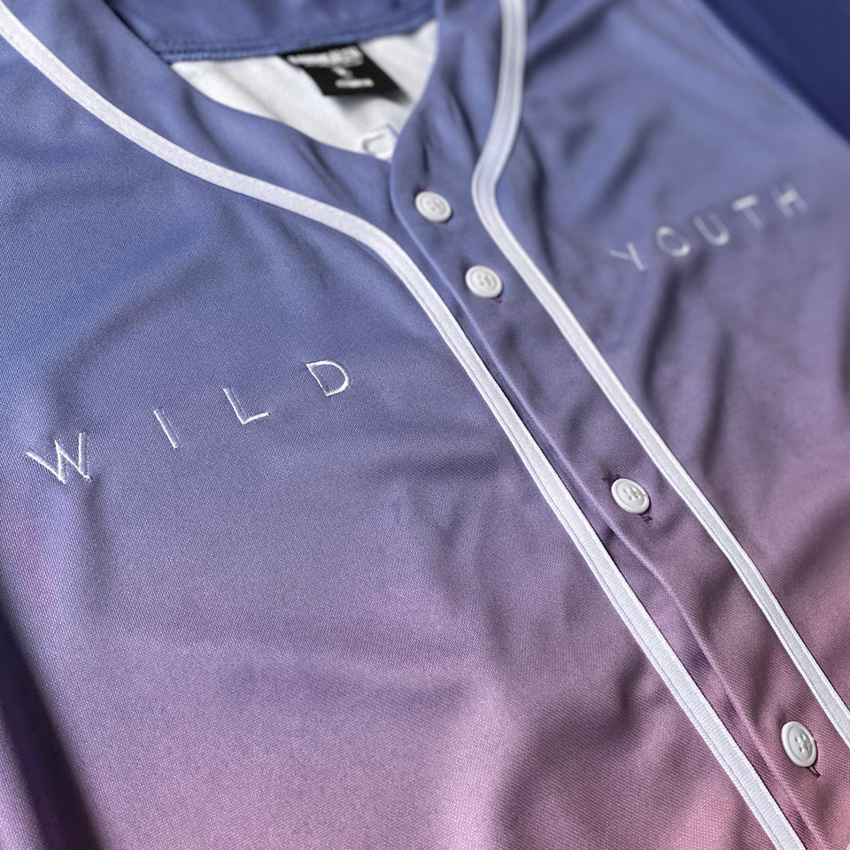 DABIN - Wild Youth - Premium Baseball Jersey (Color Gradient)