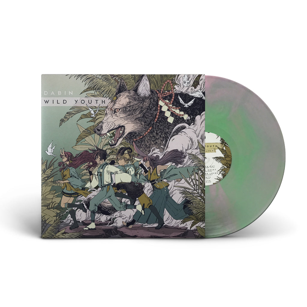 PRE ORDER - DABIN - Wild Youth - Cloudy Pink / Green - Vinyl LP