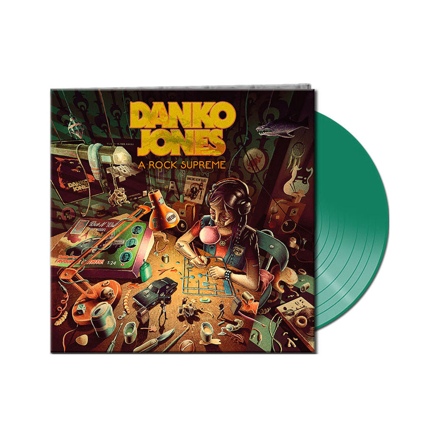 DANKO JONES -A Rock Supreme- Vinyl
