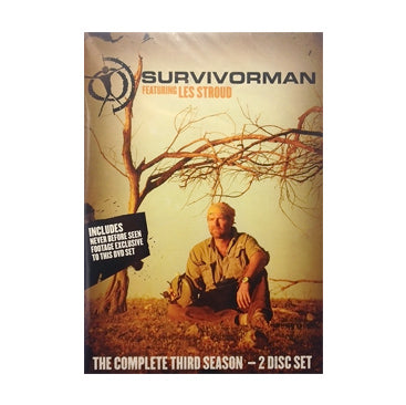 Survivorman - Survivorman Season 3 - DVD