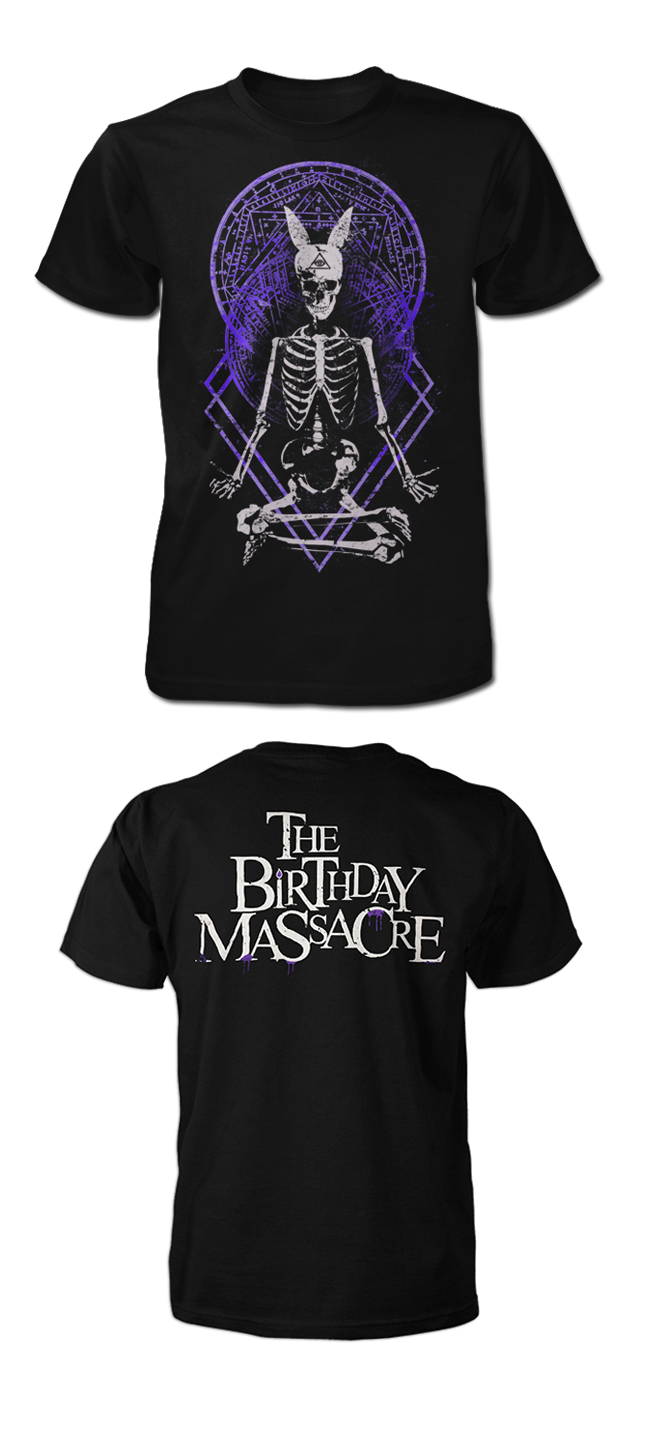 THE BIRTHDAY MASSACRE -Chakra- Black Tee