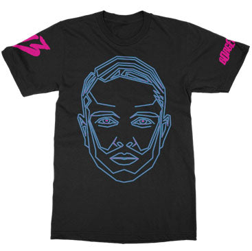 Borgeous - Frame Face Black Tee
