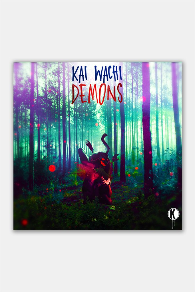 KANNIBALEN RECORDS -  KAI WACHI - Demons Wall Print