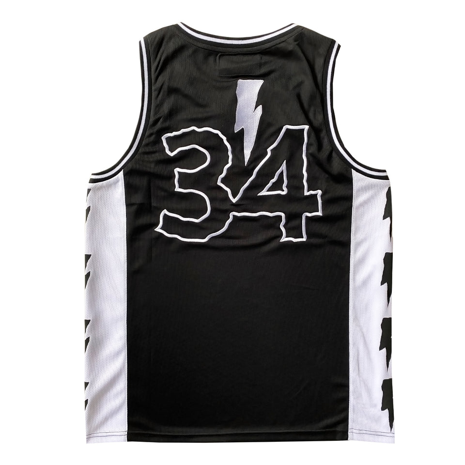 DJ DIESEL - 34 - Custom Basketball Jersey