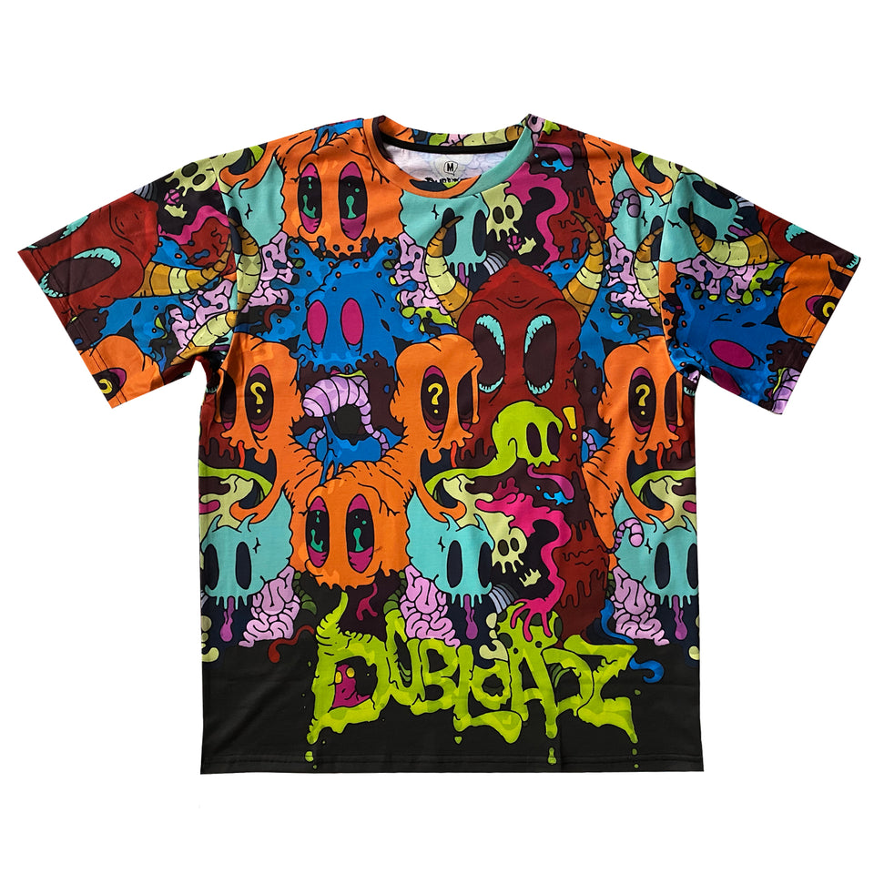 Dubloadz - GHOST GANG - All Over Tee