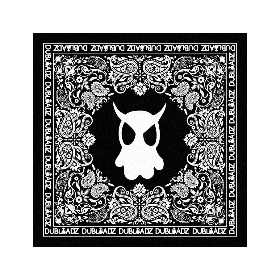 Ghost - Black Bandana