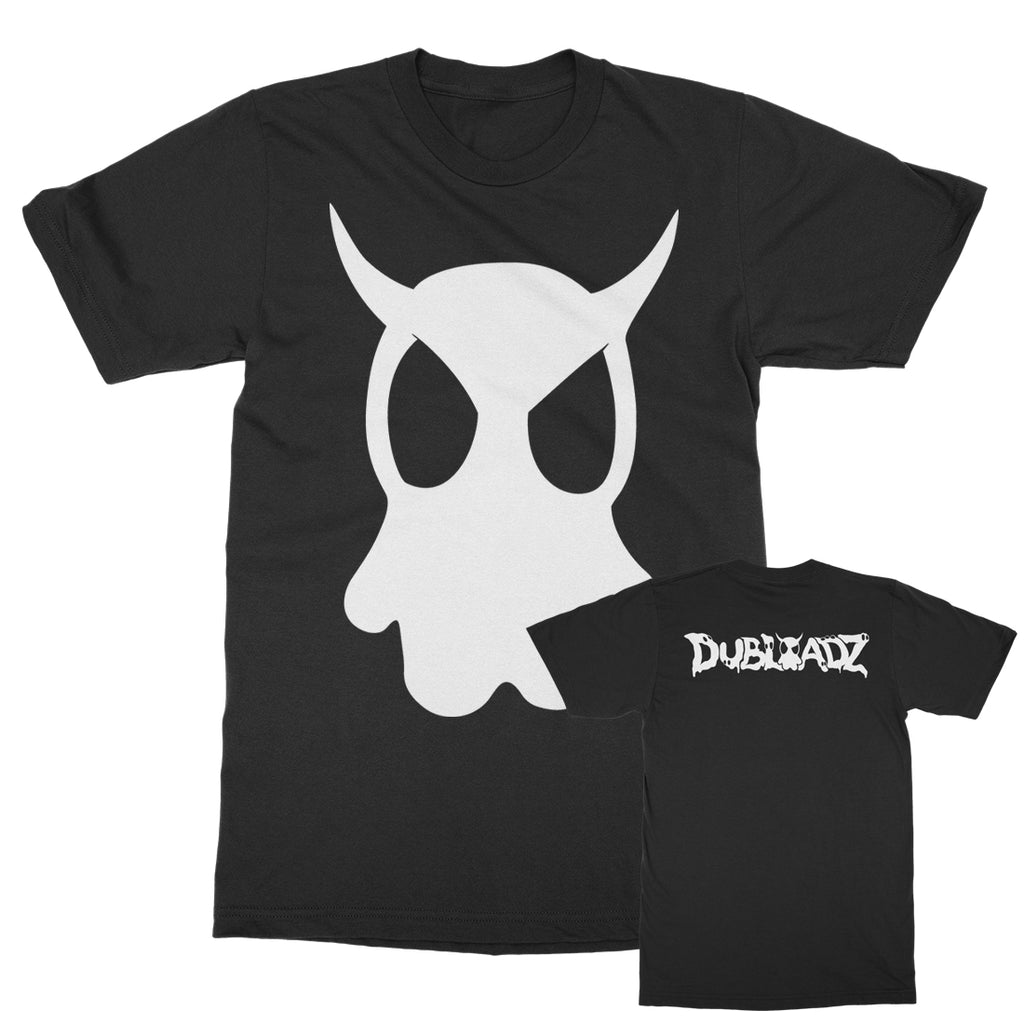 Dubloadz - Ghost - Black T-Shirt