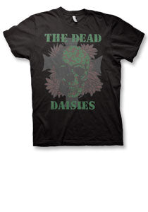 The Dead Daisies - Army Cross - Premium Black Tee
