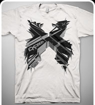 EXCISION -3DX- T-Shirt - White