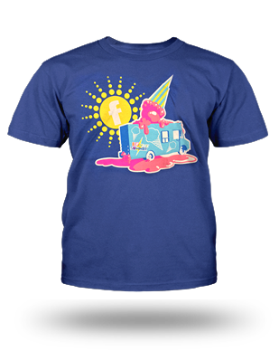 Big Ticket Summer Concert 2014 Truck T-shirt: Youth, Blue