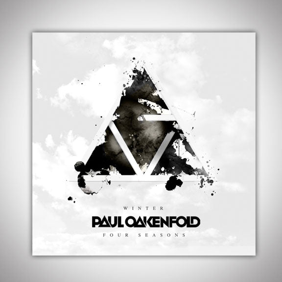 PAUL OAKENFOLD -Four Seasons- Winter Sticker