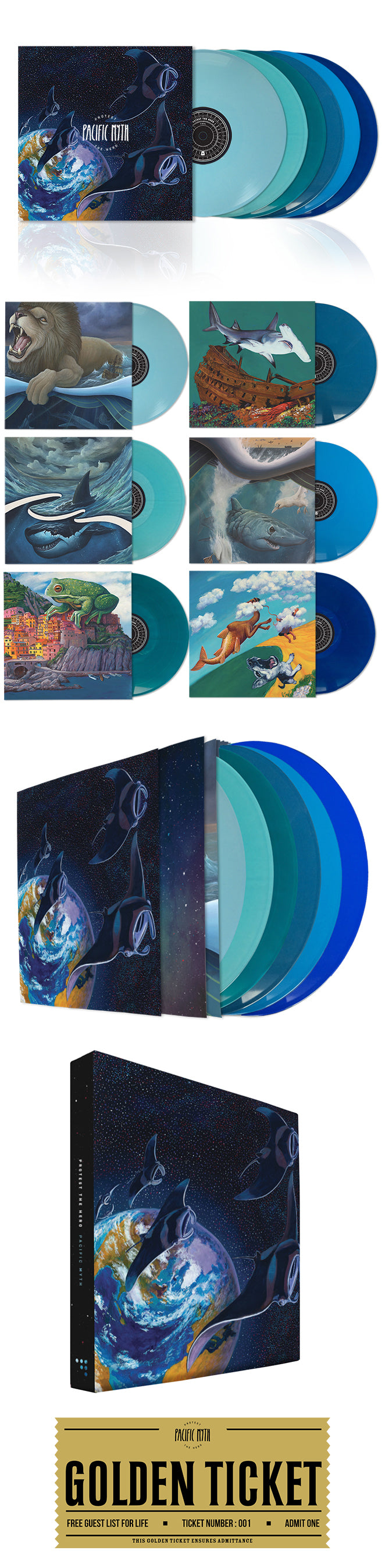 Protest The Hero - Pacific Myth Deluxe Boxset - Collectors Edition