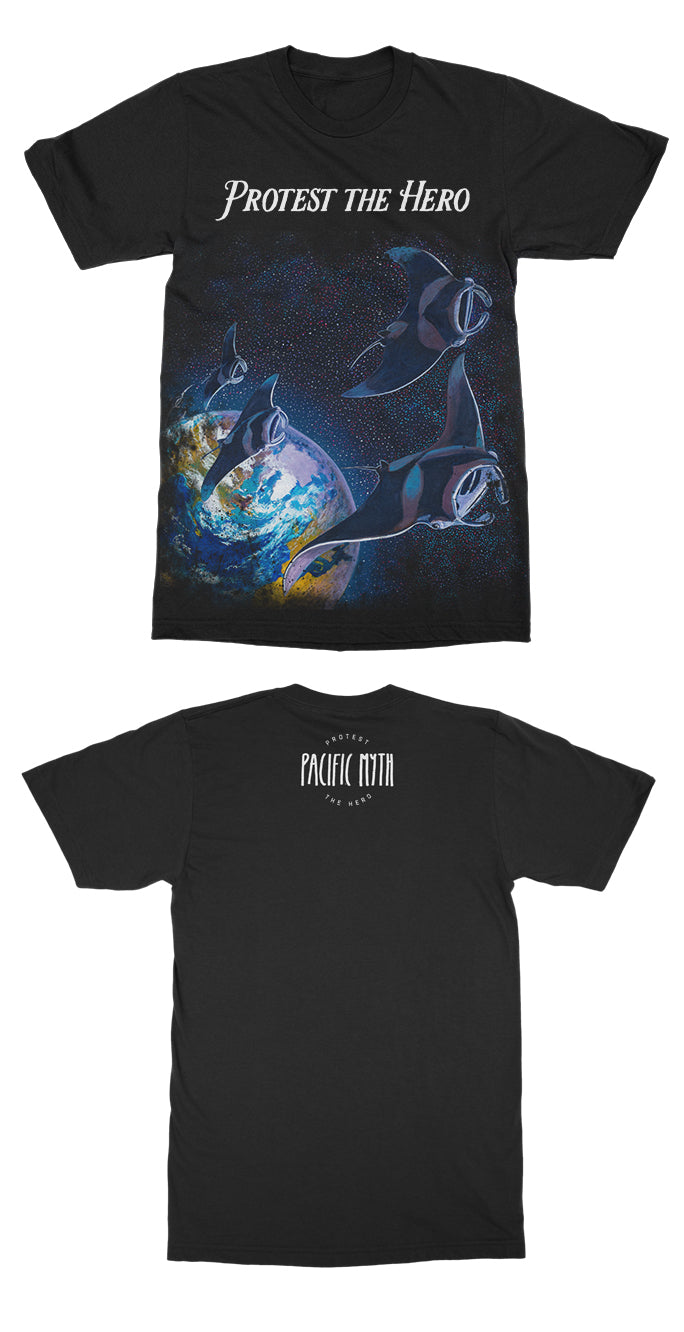 PROTEST THE HERO - Pacific Myth - Album Black Tee