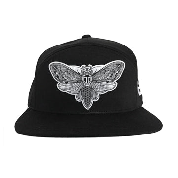 EOTO Cotton Twill Moth Hat - Black