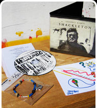 SUPER RARE! SPOOKEY RUBEN SHACKLETON Limited Edition EP Box Set