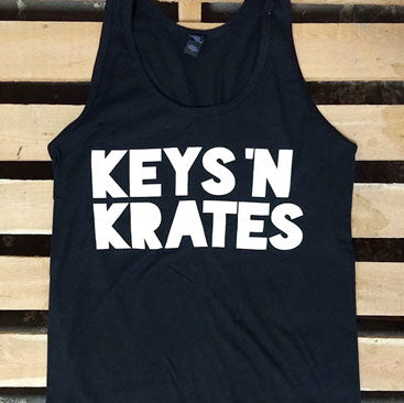 KEYS N KRATES -2015 Logo- Tank Top - Black