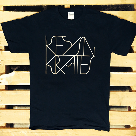 KEYS N KRATES -Logo- T-Shirt - Black