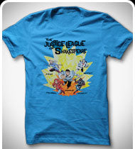 KILL SHAKESPEARE Justice League of Shakespeare T-Shirt - Turquoise