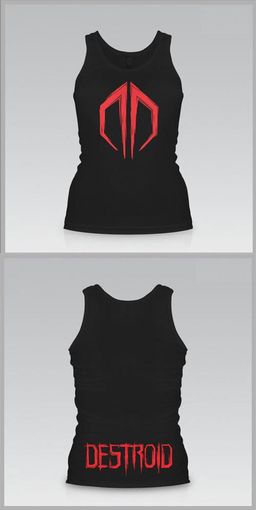 EXCISION -Destroid Logo- Girls Tank Top