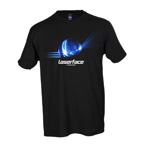 Gareth Emery - Laserface Disco Ball Unisex Black Tee