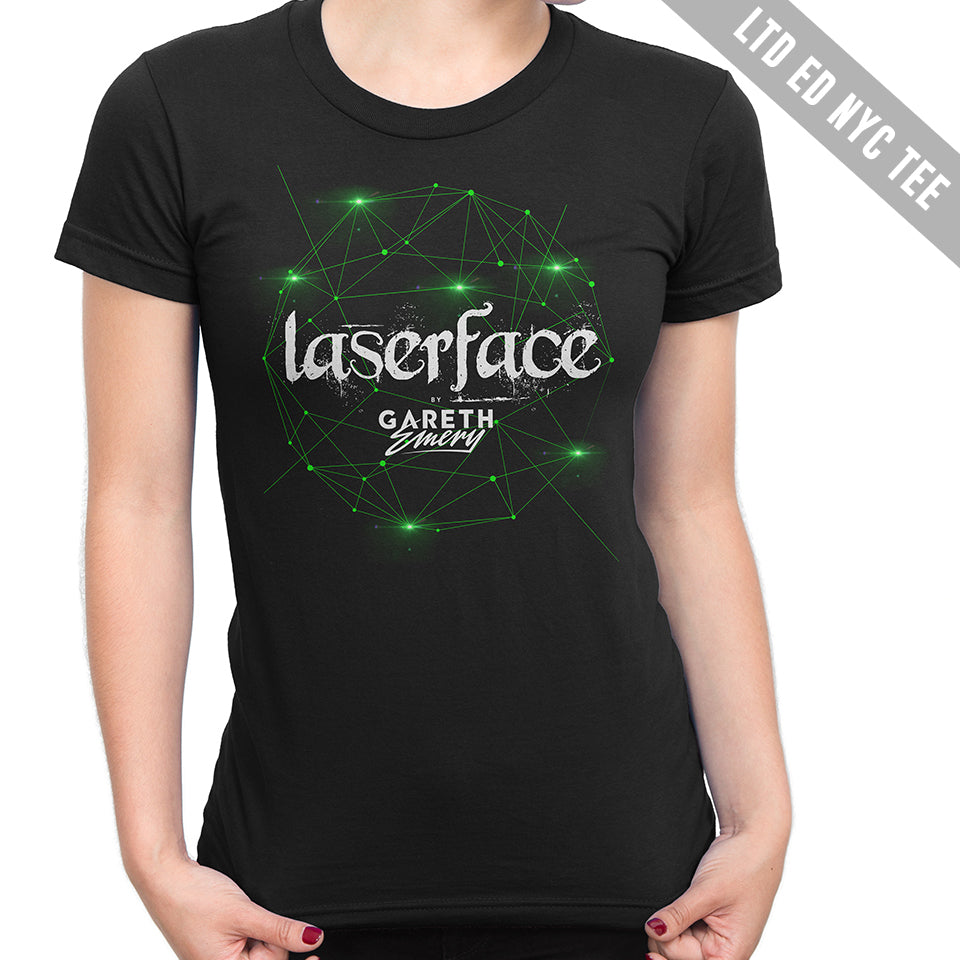 LTD EDITION: Gareth Emery - Laserface NYC Ladies Tee