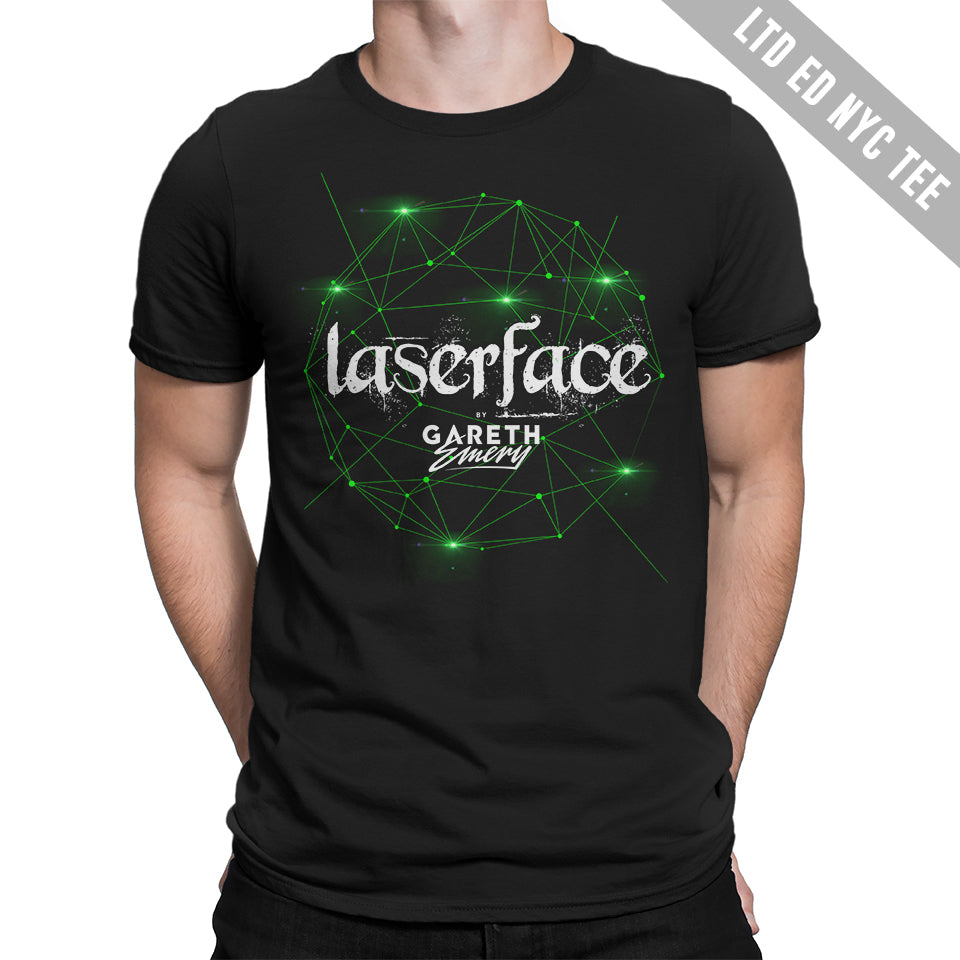 LTD EDITION: Gareth Emery - Laserface NYC Unisex Tee