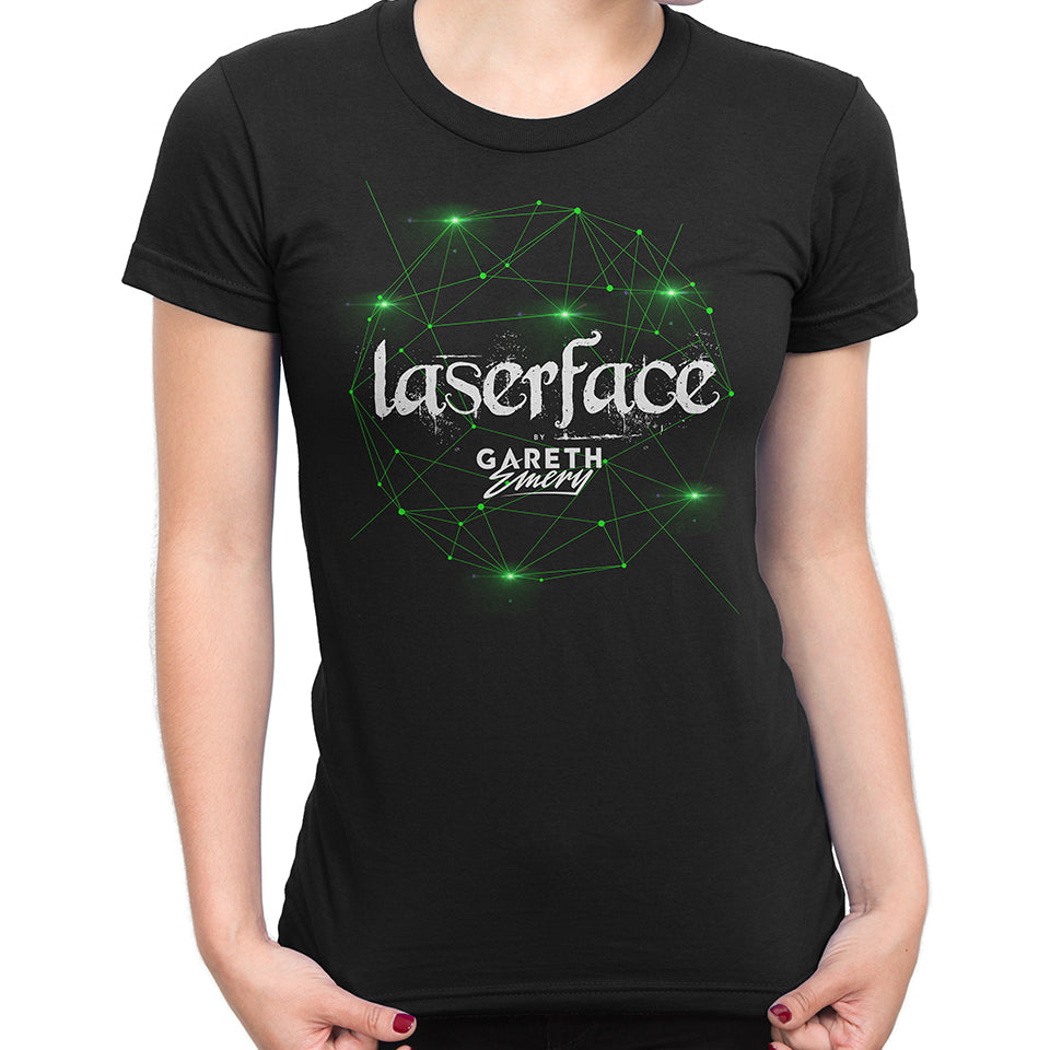 Gareth Emery - Laserface Ladies Tee