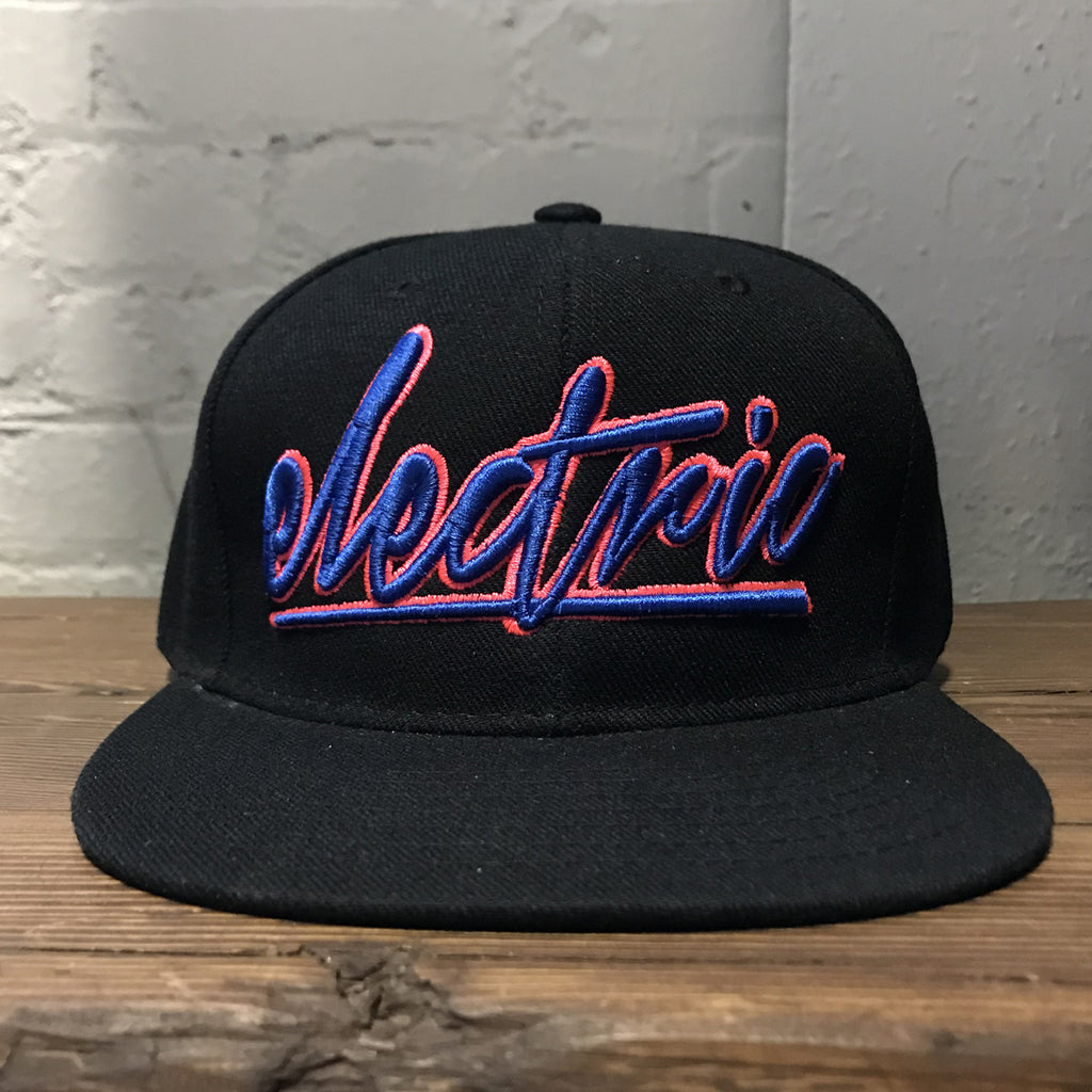 Gareth Emery - Electric -Blue / Pink Snapback Hat