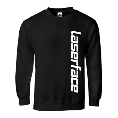 Gareth Emery - Vertical Laserface Black Long Sleeve Tee