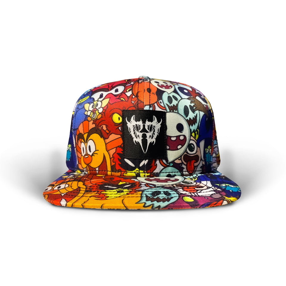 Ghostgang - Mario Rejects - Custom Snapback Hat