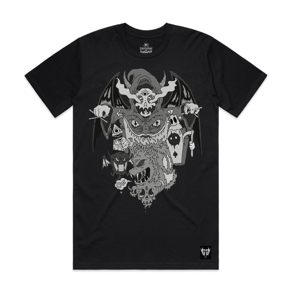 Ghostgang - Harbingers of Death - Black Tee