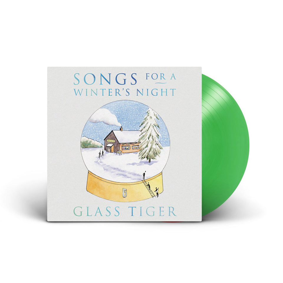 GLASS TIGER - Songs For A Winter's Night - Green Vinyl LP
