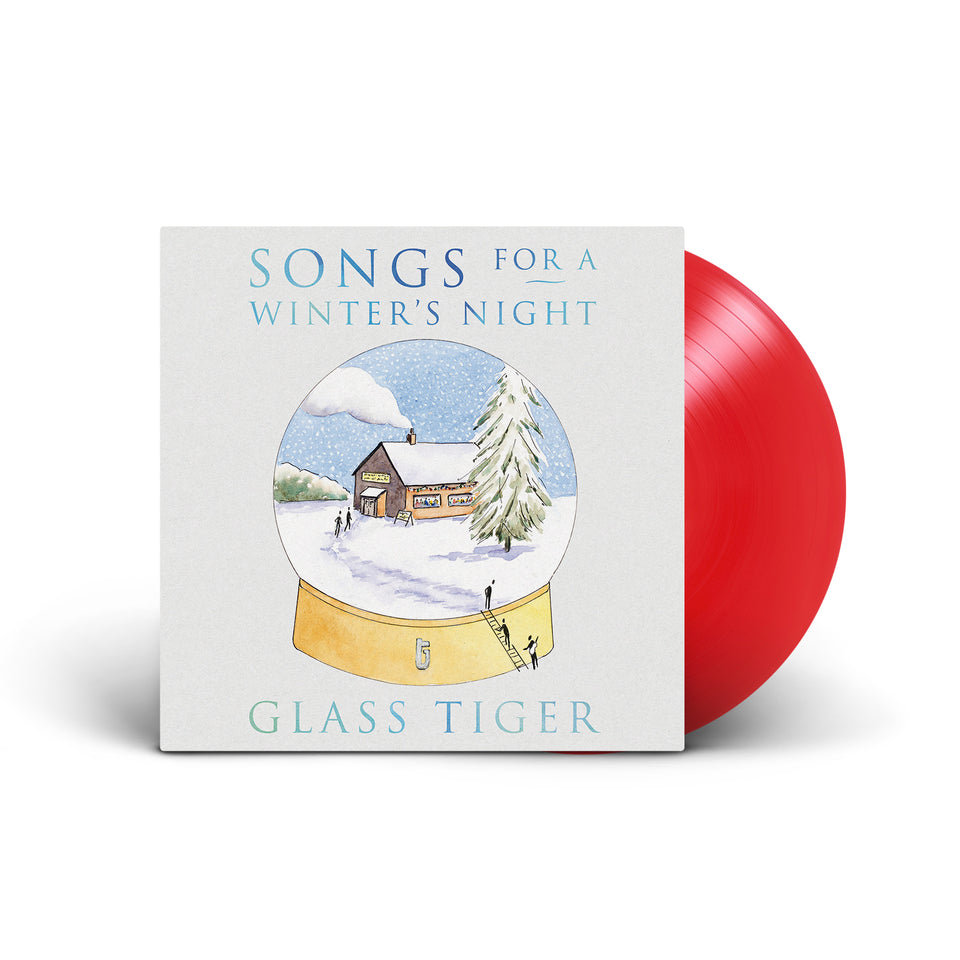 GLASS TIGER - Songs For A Winter's Night - Red Vinyl LP