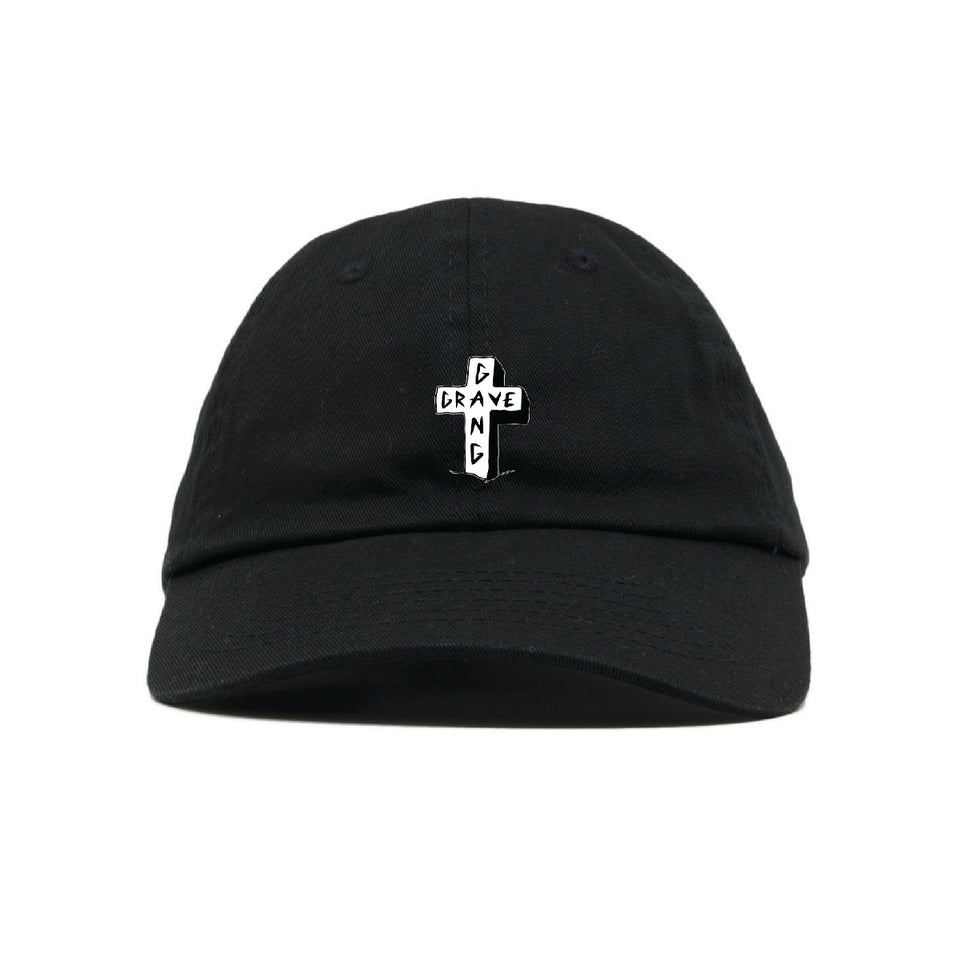 Grave Gang - Cross - Dad Hat
