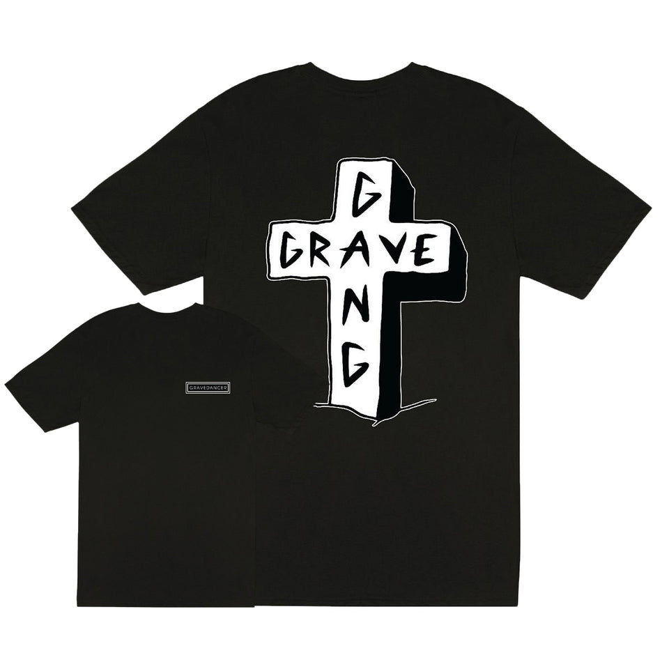 Grave Gang - Cross - Unisex Tee