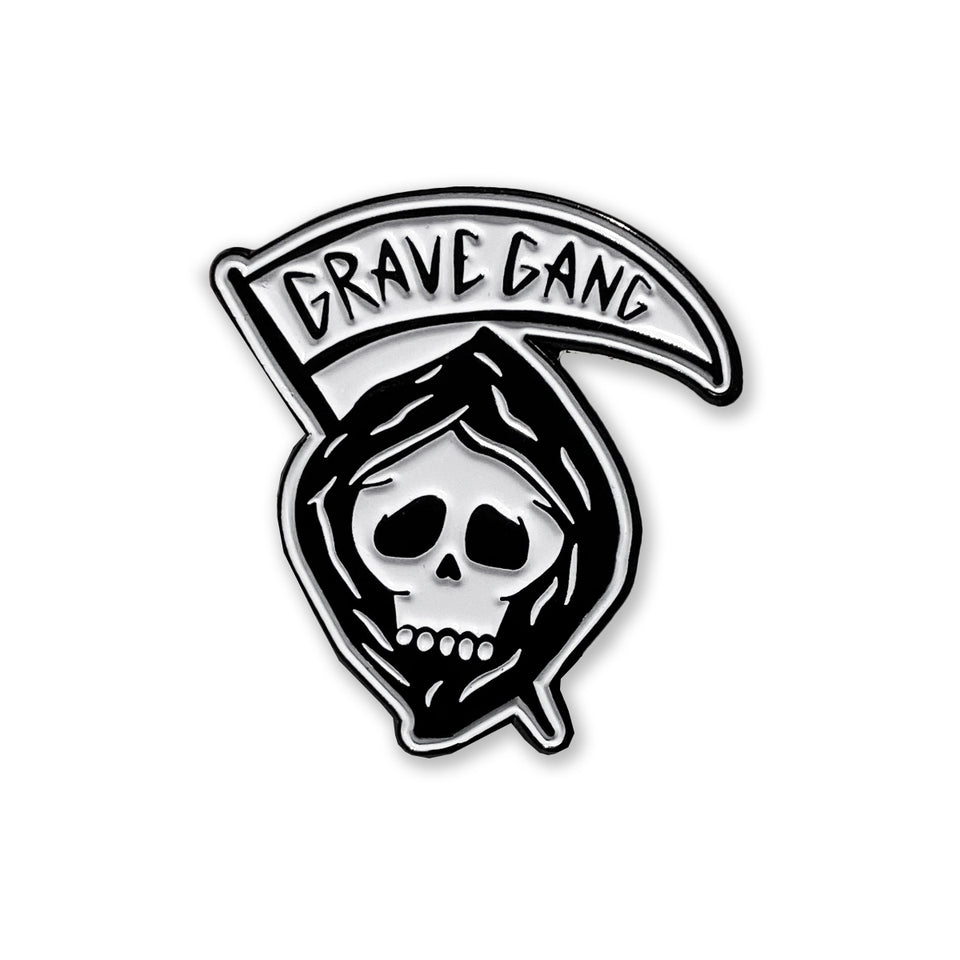 Grave Gang - Reaper - Lapel Pin