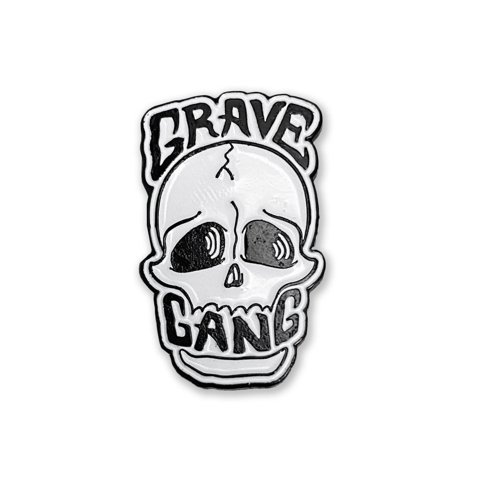 Grave Gang - Skull - Lapel Pin