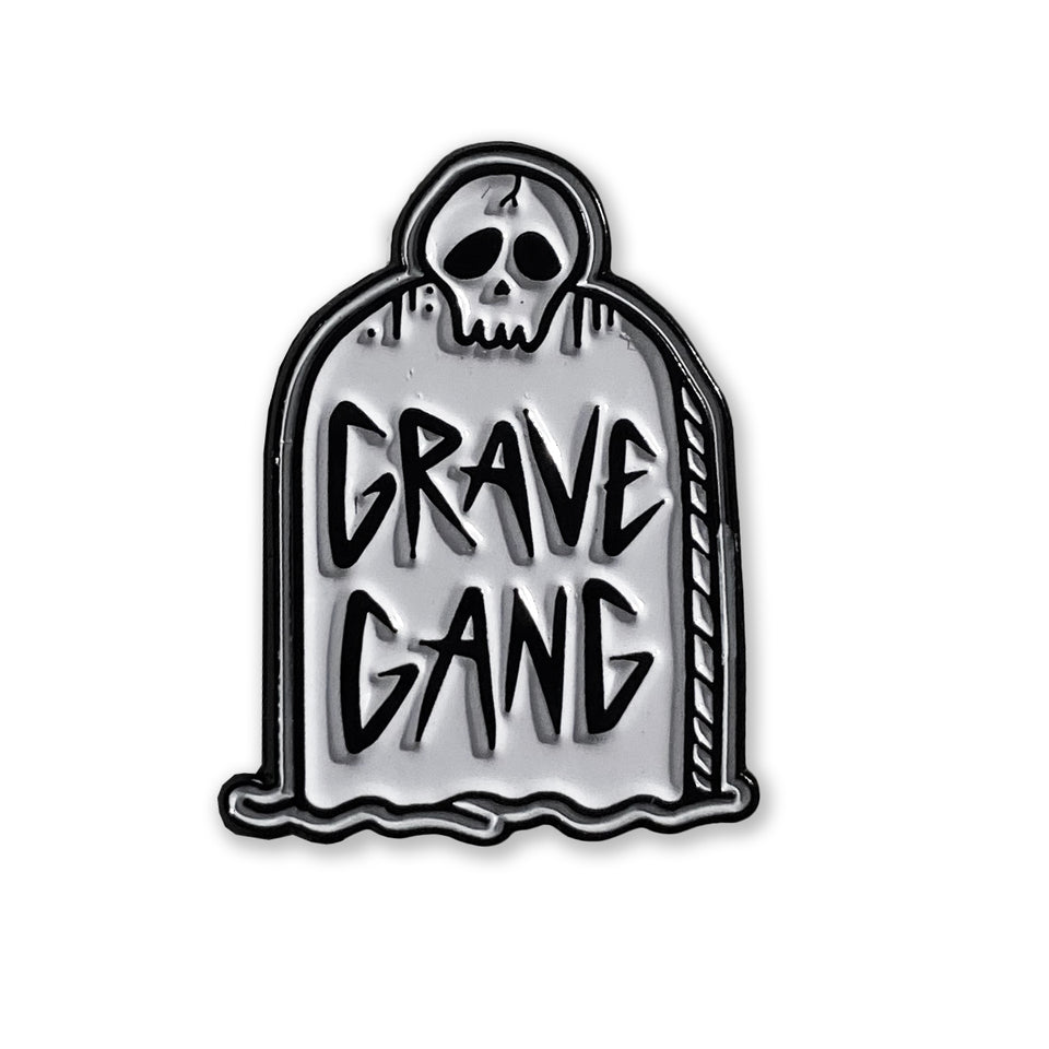 Grave Gang - Tombstone - Lapel Pin