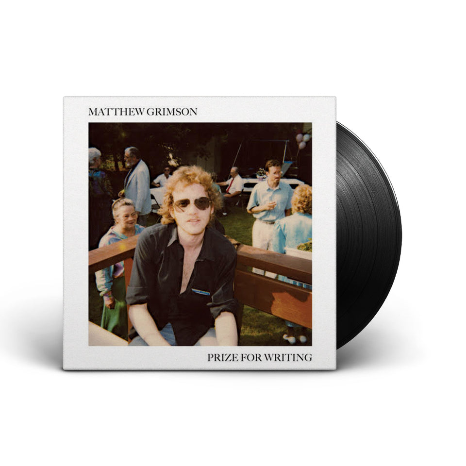 murderecords - Matthew Grimson - Prize For Writing - LP