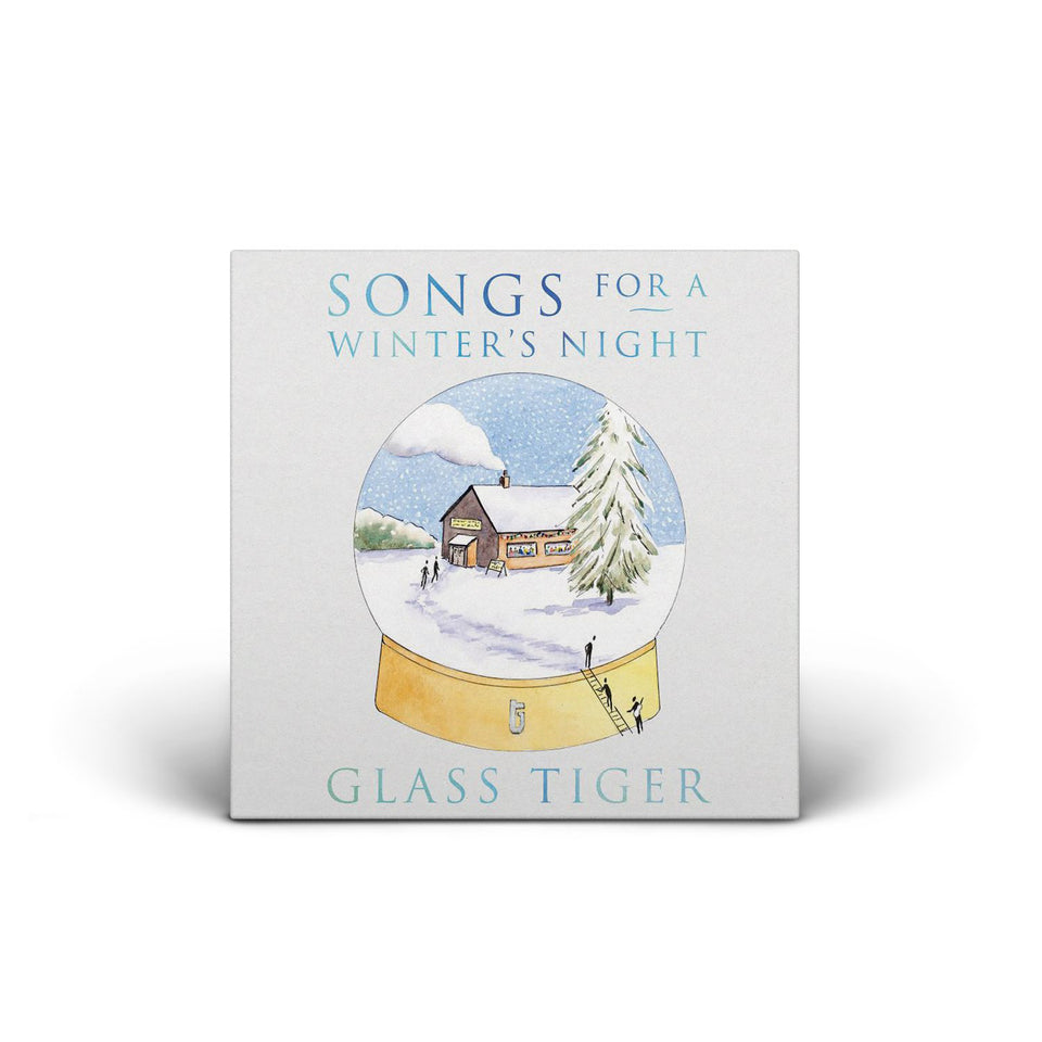 GLASS TIGER - Songs For A Winter's Night - CD