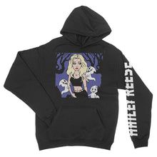 Hailey Reese - Friendly Ghosts - Black Pullover Unisex Hoodie